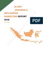 (2018) Indonesia Native Advertising & Influencer Marketing Report 2018