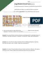 7.3 NOTES n HW - Scale Drawings Models n Scale Factor