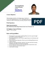 Jvm Resume 2017