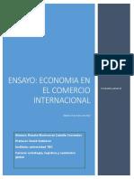 Economía y El Comercio Internacional