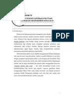 Format Laporan Penelitian PTK, Experemen Dan Pengembangan
