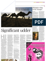 South China Morning Post Camel Milk
