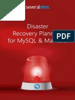 Disaster Recovery Planning for Mysql Mariadb