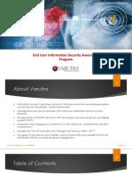 End User Information Security Awareness Program-V1.0