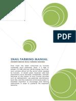 Snail Farming Manual Understanding Snail