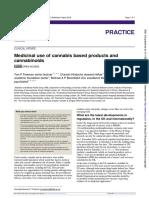 Medicinal Use of Cannabinoids-BMJ-Abril'19