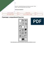 2004-2007 Renault Modus Fuse Box Diagram » Fuse Diagram