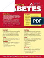 Understanding Diabetes Poster