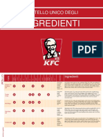 Kfc Libro Ingredienti