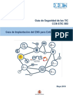 CCN-STIC 883 Implantación Del ENS Para Entidades Locales