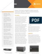 Vertiv Emerson NetSure 5000 Series Data Sheet