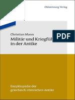 (Enzyklopädie der griechisch-römischen Antike 9) Christian Mann - Militär und Kriegführung in der Antike-Oldenbourg Wissenschaftsverlag (2013).pdf