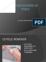 Classification of Tools