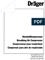 Dräger Compressor 1 - User Manual (en,De)
