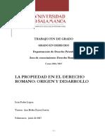 La Propiedad (Derecho Romano)