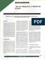 Características Técnicas Del Proyecto - Elaboración de Un Producto a Partir de Plastico Reciclado