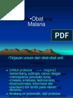 1. Drugs for Malaria