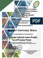 Tema Del Mes Mayo 2018