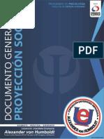 DOCUMENTO GENERAL PROYECCIÓN SOCIAL