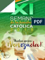Mes de La Juventud Católica 2018