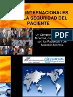 Seguridad Del Paciente- Metas Internacionales