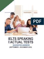 Learning ielts speaking