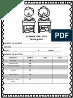 Examen Final 2019