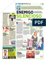 Enemigo Silenciosos, Cáncer de Ovario