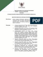 KMK No. 377-Ttg Standar Profesi Perekam Medis Dan Informasi Kesehatan