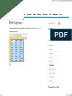 Find Duplicates in Excel - Easy Excel Tutorial