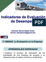 indicadores de evaluación Aiep