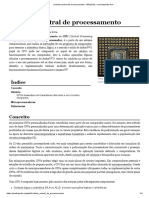 Unidade Central Processador  – Wikipédia, A Enciclopédia Livre