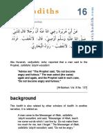 hadith 16