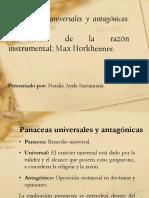 Exposición Panaceas Universales y Antagonicas