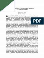 The End of the Peruvian Revolution. a Class Analysis. Dennis Gilbert