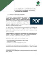 Protocolo de Rutas de Atención a La Primera Infancia en Casos de Malnutrición