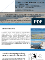 Caracteristicas Geoquimicas Generales Del Salar de Llamara