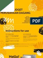MASTER BUDGET PERUSAHAAN DAGANG (Penganggaran Perusahaan) KELOMPOK.pptx
