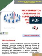 procedimientos operativos de supervision