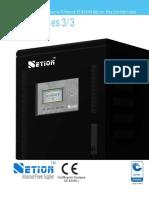 Brochure Netion UPS CP 10-60kVA 2013