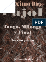 Tango Milonga y Final Pujol Two Guitar