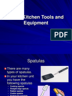Basic Kitchen Tools and Equipment