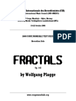 Wolfgang Plagge - Fractals