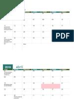 Calendario Fondo Innova Convivencia