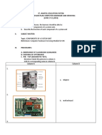Lesson Plan in Tle Computer Hardware And