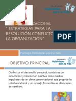 Manejo y Resolución de Conflictos en Escuelas