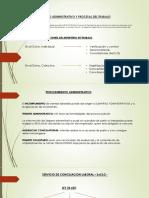 Derecho Colectivo - Derecho administrativo y procesal del trabajo