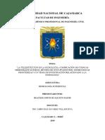 LA TELEDETECCIÓN EN LA HIDROLOGÍA, CODIFICACIÓN DE CUENCAS HIDROGRÁFICAS POR EL MÉTODO DE OTTO PFASTETTER, INTERCUENCAS FRONTERIZAS Y UN TEMA DE INVESTIGACIÓN RELACIONADO A LA HIDROLOGÍA