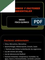 6. Organismos y Factores