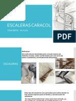Escaleras Caracol Concreto- Placas